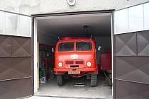 Technika, kterou hasiči z Klokočí používají, není zrovna nejmodernější