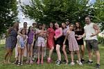 Děti z Dětského domova Hranice.