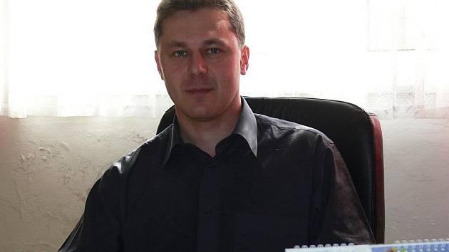 Starosta obce Partutovice Jaroslav Šindler