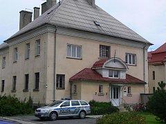 Sídlo policie v hranické Purgešově ulici