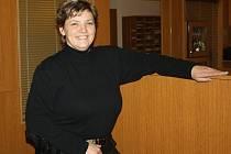 Monika Rendlová, první žena u Městské policie Hranice.