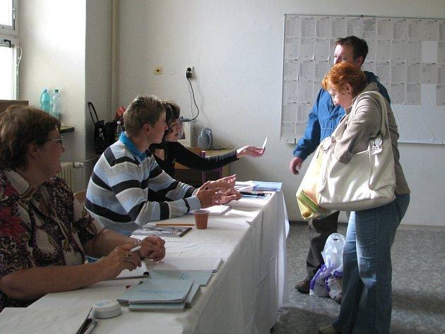 Volby do Evropského parlamentu v Přerově.