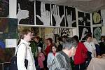 Výstava prací žáků výtvarného oboru Základní umělecké školy v Hranicích