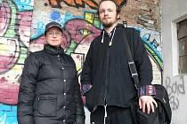 Jana a David. Pro centrum Kappa Help začali pracovat dva noví streetworkeři.