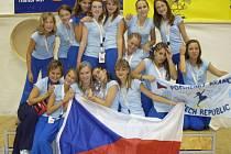 S nejvyšším možným oceněním se vrátila z Mistrovství Evropy ve Slovinsku hranická mažoretková skupina Pomněnky.