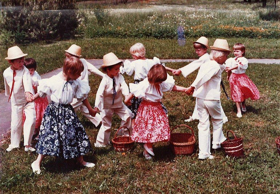 Děti ze školky.