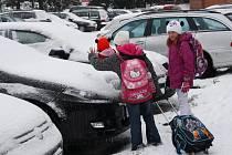 Ledové úterý 2. prosince 2014 v Hranicích