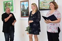 Již po šesté vystavují studenti Gymnázia Hranice své výtvory v Severním křídle zámku.