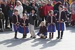 Vítaní jara na Masarykově náměstí v Hranicích
