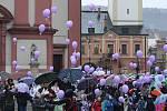 V Hranicích se vznesly balonky k Ježíškovi