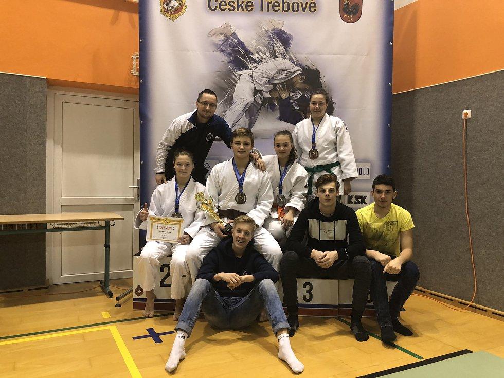 Závodníci Judo Hranice v České Třebové