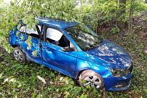Nehoda fabie u Černotína