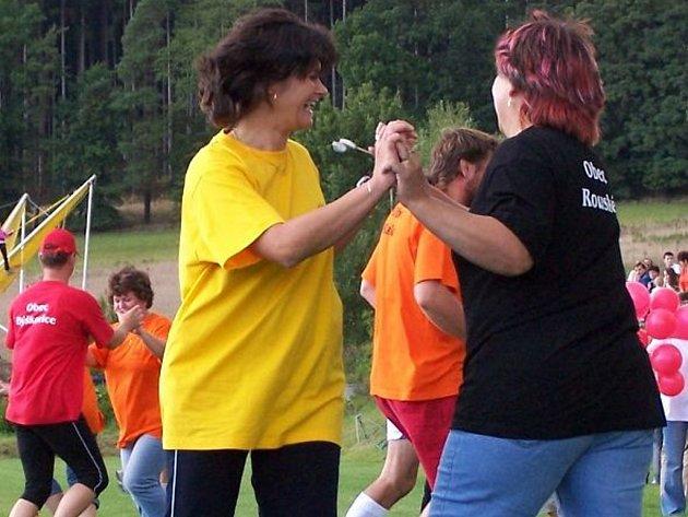 Na olympiádě se bavili  jak diváci, tak i soutěžící.