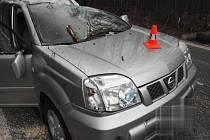 Čtvrteční dopravní nehoda u Hustopeč nad Bečvou