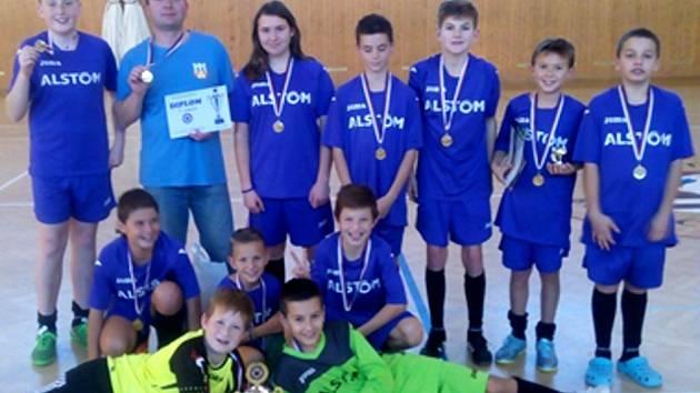 Mladí fotbalisté Soběchleb