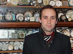 Marek Suchánek, kurátor Muzea a galerie Stará radnice.