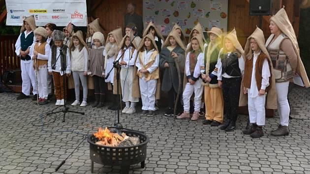 Podzimní ohníčky v ZŠ Drahotuše.