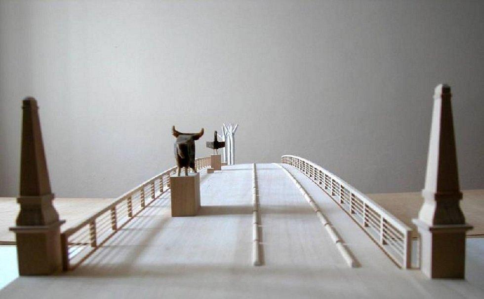 Se stavbou nového Tyršova mostu se začne už na jaře příštího roku. Náklady se odhadují na 120 milionů korun.