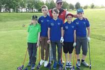 Žáci ZŠ 1. máje Hranice uspěli v celorepublikové soutěži ve SNAG golfu