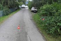 Těžké zranění utrpěla čtyřiasedmdesátiletá žena při nehodě, která se stala v sobotu mezi Horní Moštěnicí a Břestem.