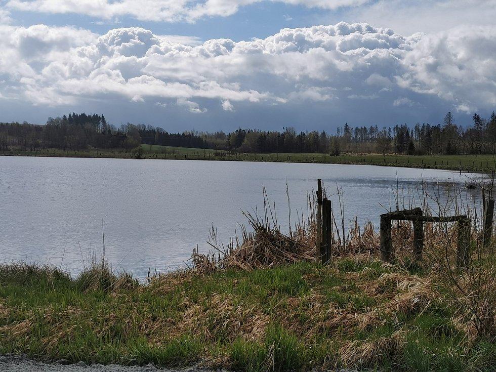 Rybníky ve zdejší krajině slouží k chovu ryb