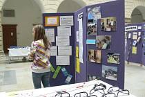 Veřejnost v Hranicích si vyzkoušela pomůcky pro zrakově postižené