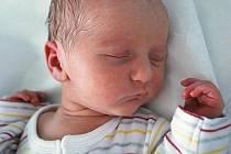 Matěj Šatánek, Hranice, narozen 18. srpna 2011 v Přerově, míra 48 cm, váha 2 840 g