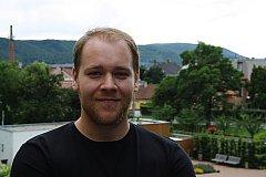 David Koráb se v realizačním týmu festivalu Letiště stará hlavně o PR a marketing.