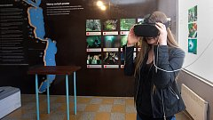 Nové informační centrum Hranické propasti čeká na otevření v železniční stanici v Teplicích nad Bečvou