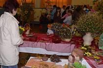 Podzimní výstavu, která se konala v kulturním domě ve Všechovicích, si nenechaly ujít stovky návštěvníků.