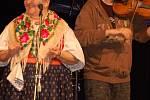Jarmila Šuláková vystoupila spolu s kapelou Fleret  v přerovském klubu Teplo.