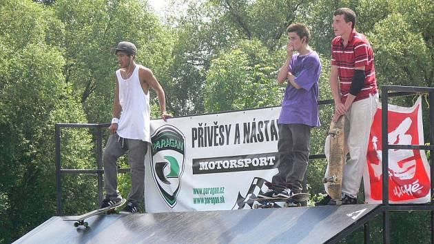 V sobotu 4. června proběhly v lipnickém skate parku závody vyznavačů skateboardu.