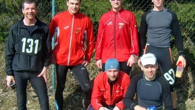 Hranický tým po závodu v Radíkově nedaleko Svatého Kopečku.