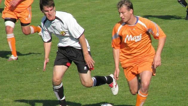 Hraničtí fotbalisté získali poprvé v sezoně všechny tři body, porazili Želatovice 3:2
