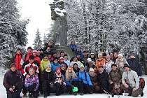 Občané Opatovic na novoročním výšlapu