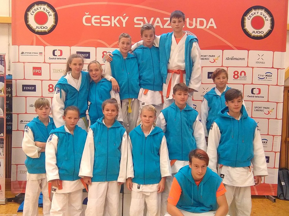 Mladší a starší žáci Judo Hranice uspěli na MČR v Ostravě.