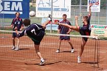 Nohejbalisté Spartaku Přerov doma porazili Čelákovice a ve své skupině drží třetí příčku.