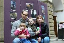 Výstava pětiletého talentovaného fotografa Kryštofa Vaňka v Hranicích