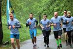 Vojáci ze 143. zásobovacího praporu Lipník nad Bečvou se zapojili do celoarmádní charitativní akce Běh pro válečné veterány.