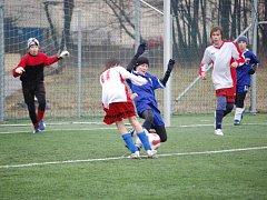 Béčko žáků 1. FC Přerov zdolalo v domácím turnaji mladší áčko žáků Prostějova vysoko 5:0.