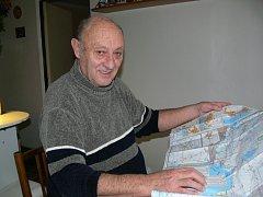 Jiří Beneš z Hranic obeplul na lodích celý svět. Námořníka dělal přes třicet let.