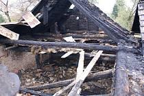 Požár v Jezernici