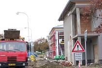 Výstavba přerovského domova důchodců je v plném proudu.