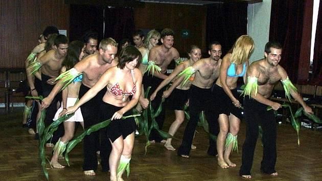 Taneční A-klub měl soustředění.