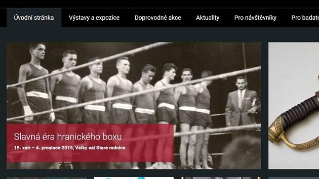 Web Muzea a galerie Hranice