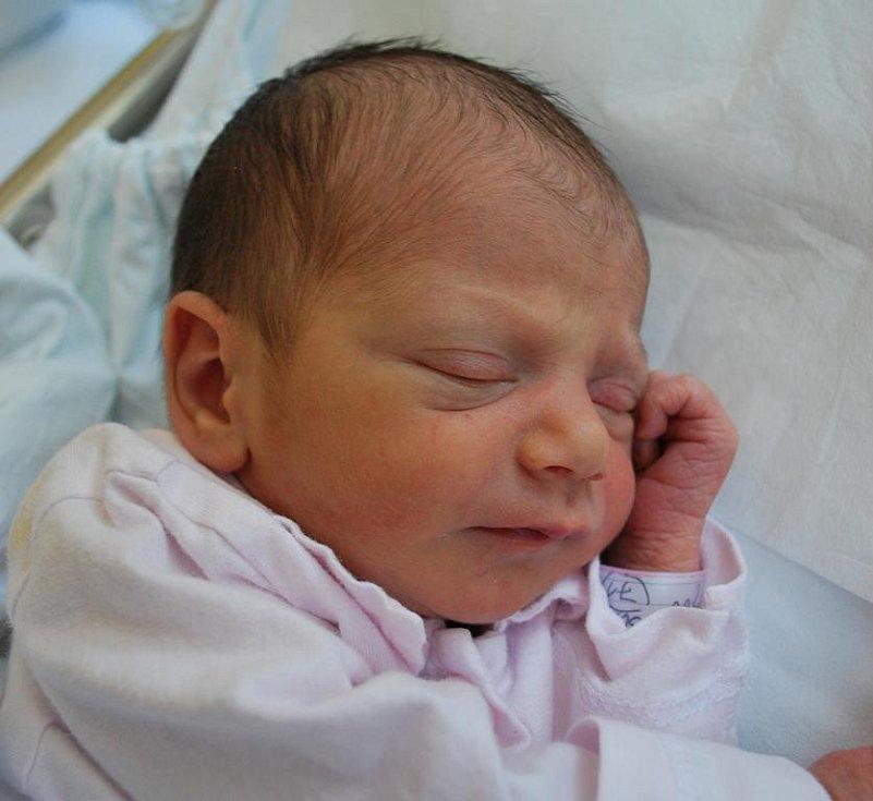 Sophie Novosadová, Bělotín, narozena 24. května 2011 v Přerově, míra 48 cm, váha 2 550 g