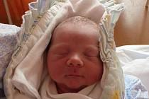 Daniel Pumprla, Drahotuše, narozen 21. května 2011 ve Valašském Meziříčí, míra 52 cm, váha 4 100 g