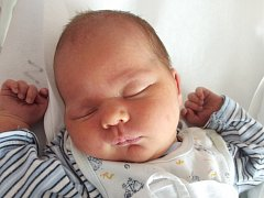 Martin Simon, Lipník nad Bečvou, narozen dne 25. května 2014 v Přerově, míra: 52 cm, váha: 4050 g
