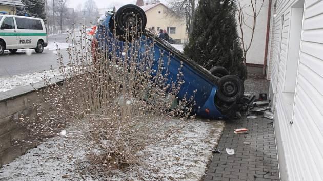Nehoda u obce Šišma
