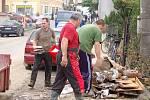 Povodeň Hustopeče nad Bečvou 2. díl
